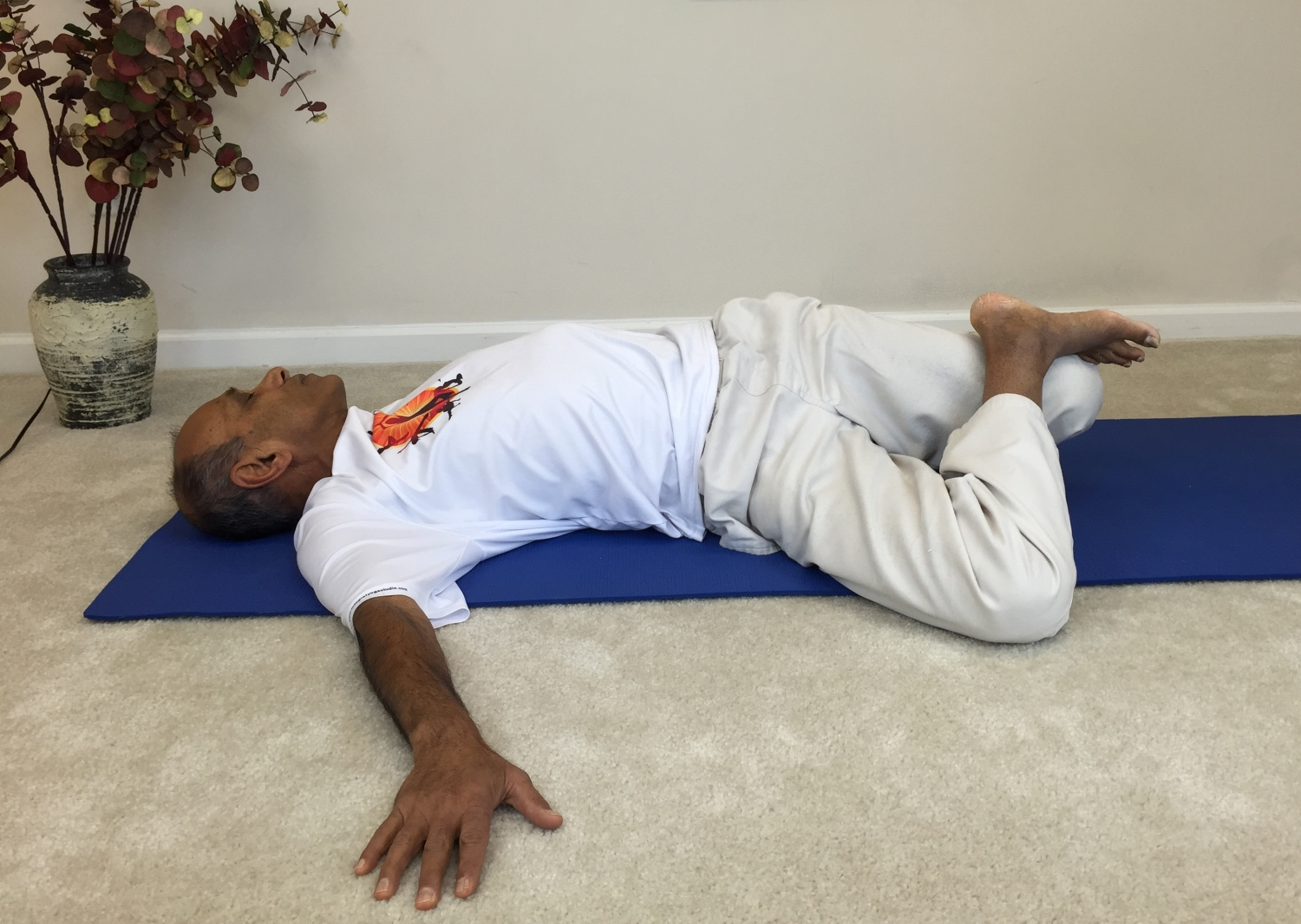 Reclining Twist To Relieve Back Pain Yoga With Subhash