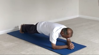 preparing for shirshasana headstand  yoga with subhash